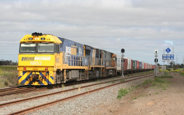 NR52, XRB561 and NR39 Melbourne bound at Gheringhap