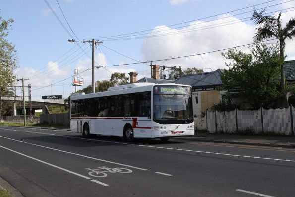 Westrans bus #125 8013AO on a route 414 service along Buckley Street, West Footscray