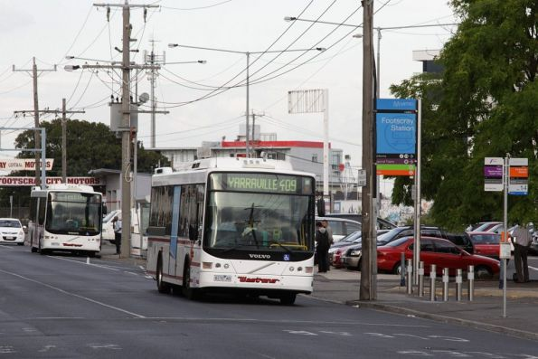 Westrans buses on Irving Street outside Footscray station
