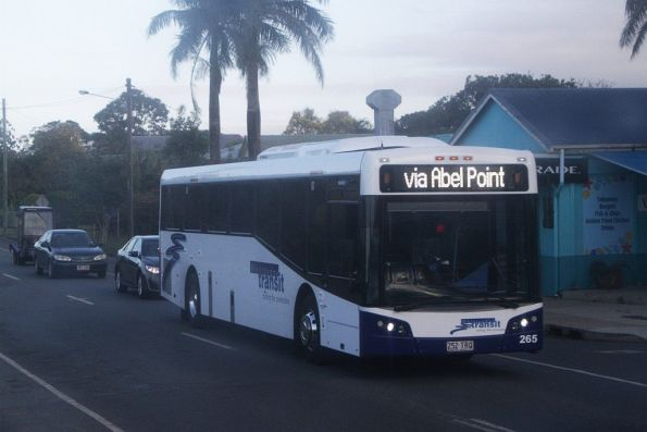 Whitsunday Transit bus #265 252TRQ Proserpine with a service to Airlie Beach