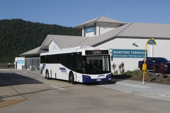 Whitsunday Transit #264 rego 251TRQ stops at the Port of Airlie