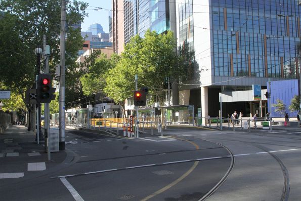 Corner of William and La Trobe Street