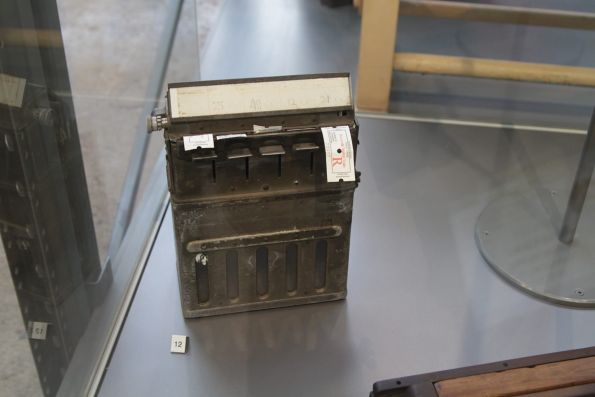 Ticket dispensing box