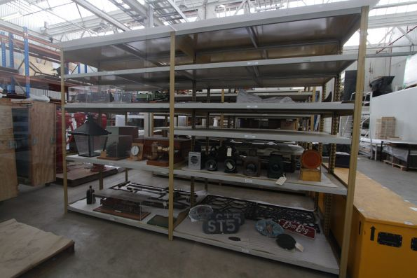 More miscellaneous bits and pieces in storage in the back rooms of the museum