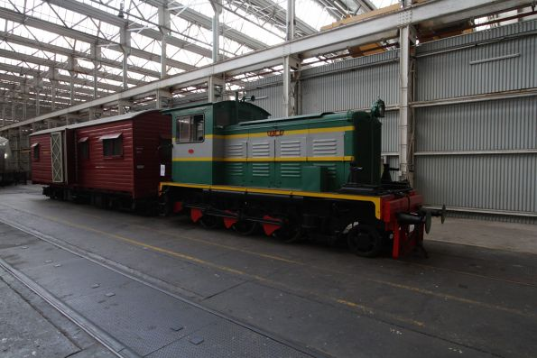 Queensland Rail's first diesel locomotive - DL1
