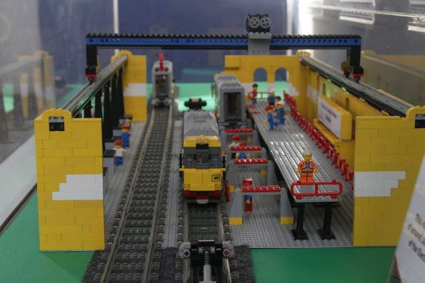 Lego version of QR's Redbank Workshops