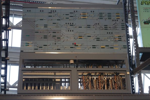 Decommissioned CTC panel from the Brisbane suburban area