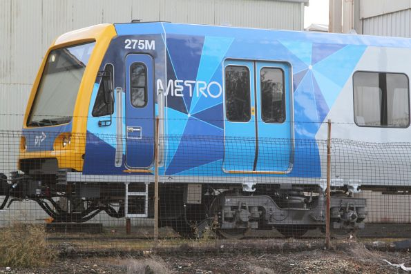 New version of the Metro livery on X'Trapolis 275M