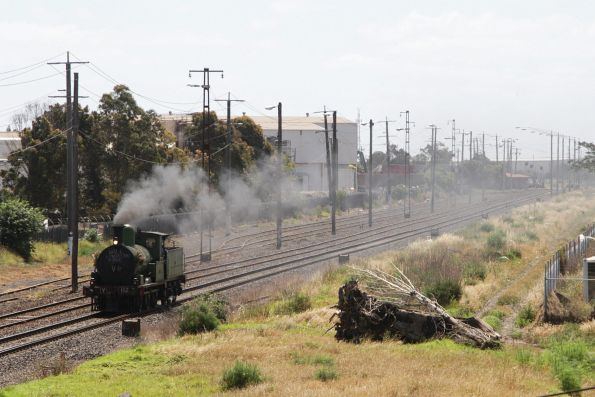 Steamrail - Y112 transfer, November 2015