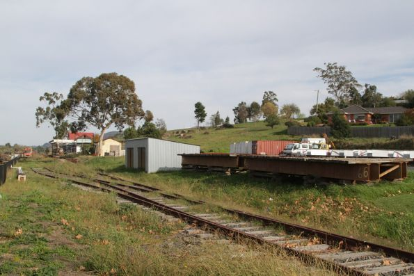 Station yard at Yarra Glen