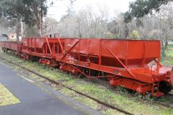 Ballast wagons NN52 and NN33 at Healesville