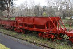 Ballast wagon NN52 at Healesville
