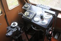 Driver's controls at the non-engine end of RM22