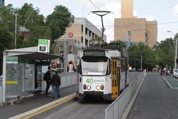 Z1.22 eastbound on Elgin Street