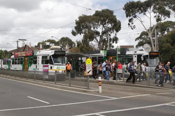 Passengers on the tour leave Z1.22 for the lunch break at Hawthorn Depot