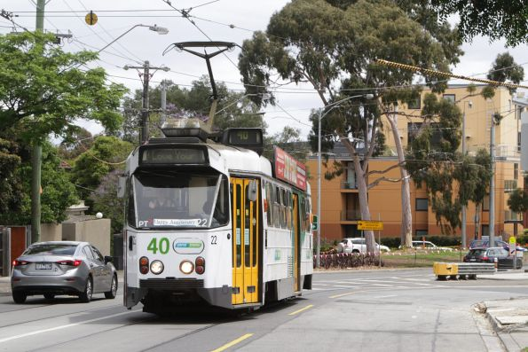Z1.22 departs Riversdale Junction for Camberwell Depot