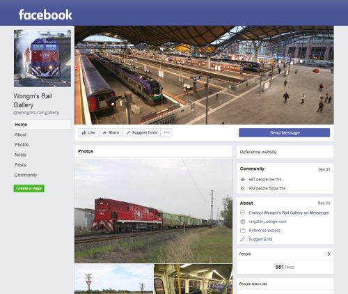 ad70f98b49 News - Follow me on Facebook and Twitter - Wongm s Rail Gallery